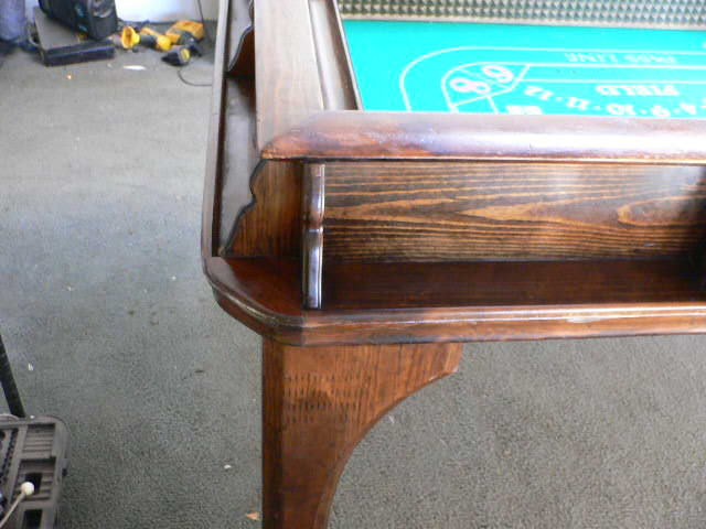 Vintage 1930s Riverboat Casino Craps Table W Custom Top